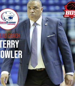 Ballin Down South interview with South Alabama WBB Head Coach Terry Fowler