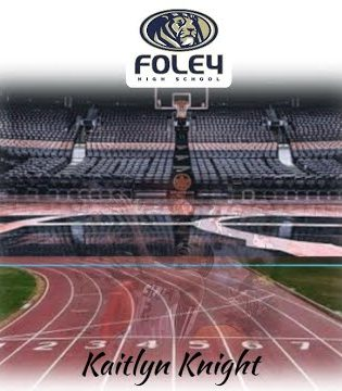 Foley High School Senior Kaitlyn Knight will announce and sign where she will be going to college