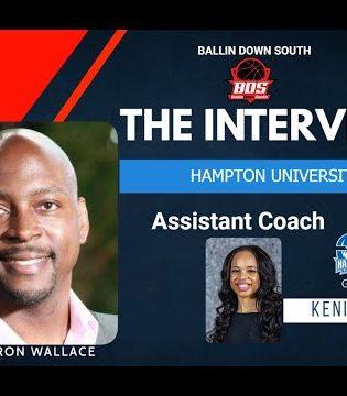 Ballin Down South Interview with Hampton University WBB Asst. Coach Kenia Cole