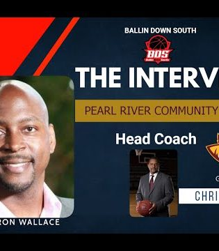 """""""The Interview"""" Pearl River Community College MBB Head Coach Chris Oney."""