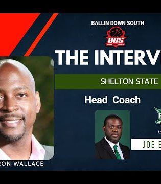 """""""The Interview"""" with Head Coach of Shelton State MBB Joe Eatmon"""