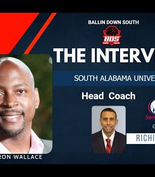 """""""The Interview"""" with South Alabama MBB Head Coach Richie Riley"""